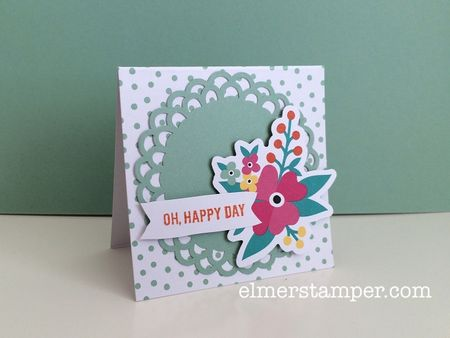 Oh Happy Day Card Kit Alternate Idea 2