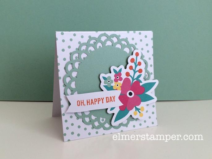 Oh Happy Day Card Kit Alternate Idea 2