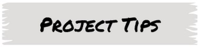 Project Tips Button